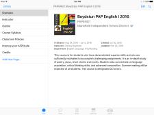 Boydstun iTunes U main course