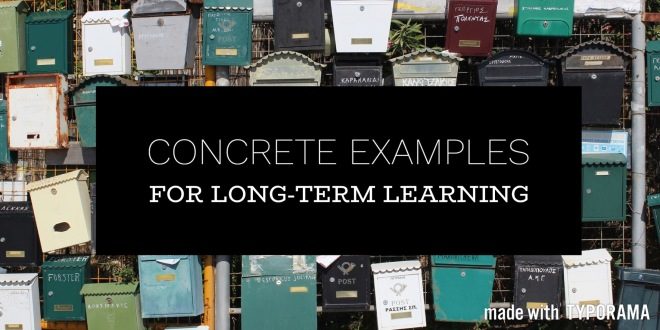 Long Term Learning Strategy Concrete Examples Vision In Practice