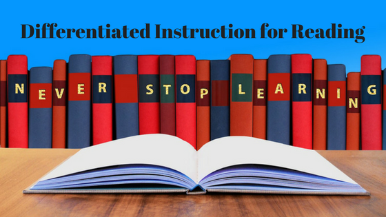 Differentiated Instruction For Reading Vision In Practice